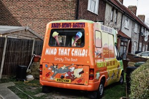 Ice Cream Van. Photo by Lewis Inman