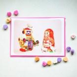 be mine valentine's card 1
