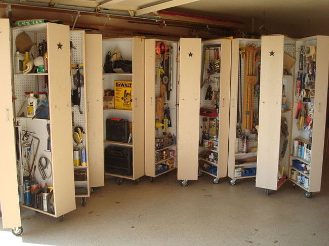 20 ideas for having a well organized garage - becoration on Organized Garage  id=17021