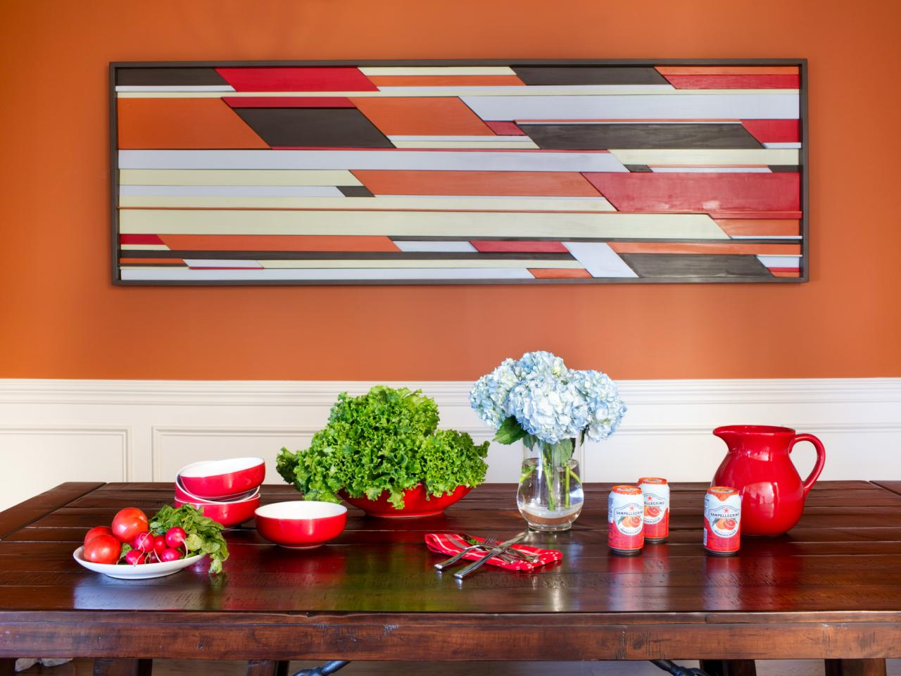 10 easy and cheap DIY ideas for decorating walls - becoration on Picture Hanging Idea  id=33941
