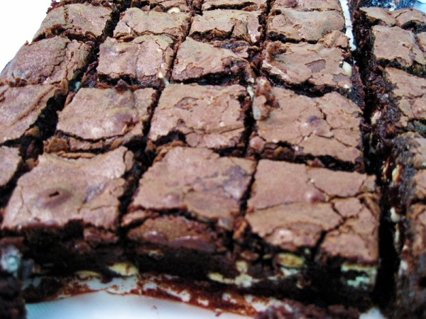 Thermomix and Conventional Brownies | becs-table.com.au