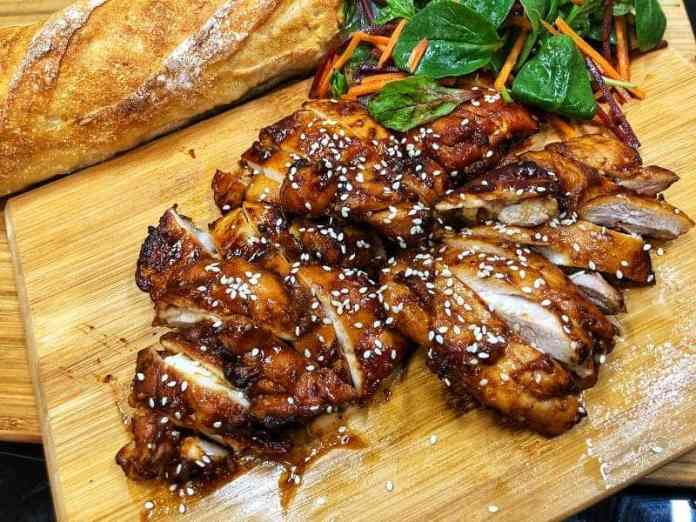 Asian Style chicken for quick dinners