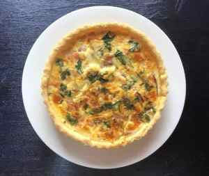 Easy Quiche Lorraine from our eBook