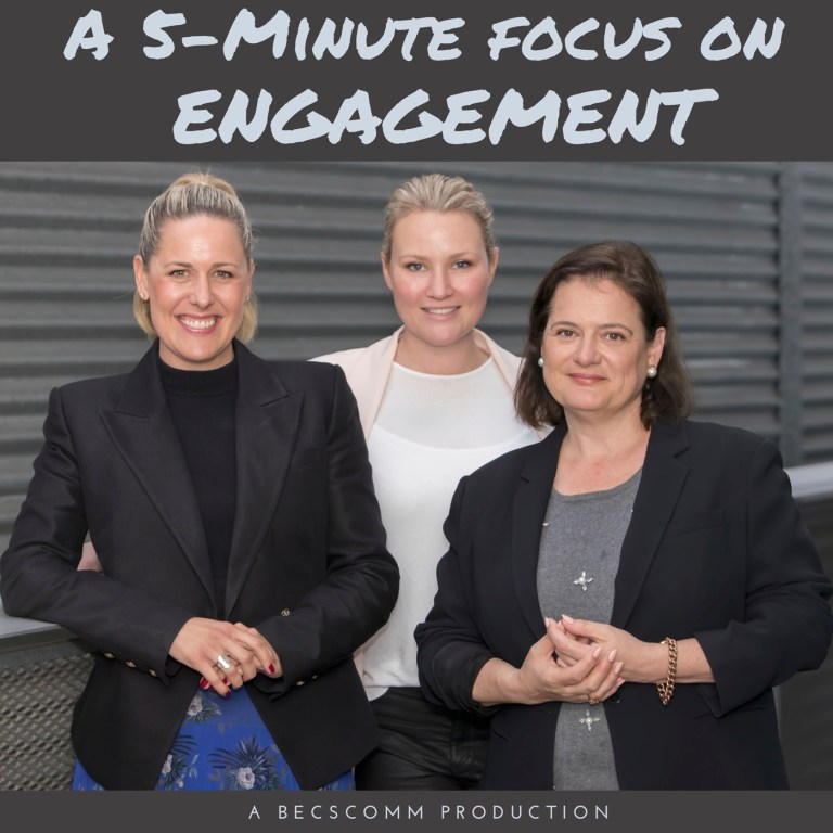 A 5-Minute Focus on Engagement