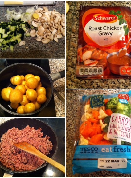 Foodie Friday #001 – Simple Mince and Veg