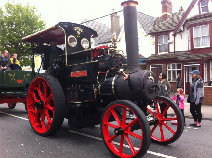 Traction engines (like Trevor in Thomas The Tank!)