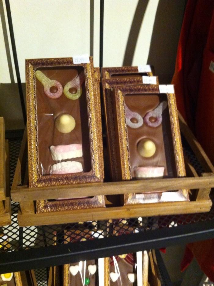 Grrr - angry choccies!