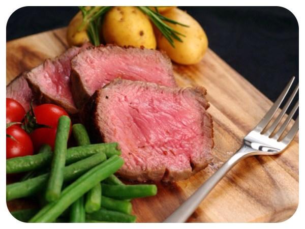 Steak and veg