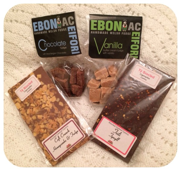Chocolate and Fudge giveaway