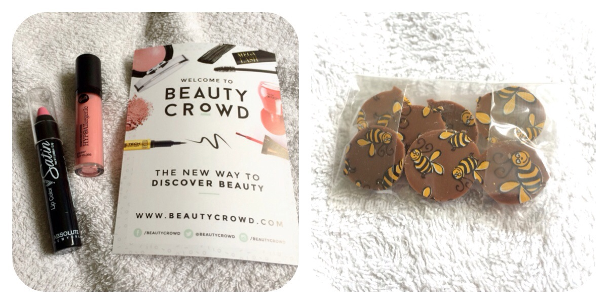 Beauty Crowd & BeeGood chocs