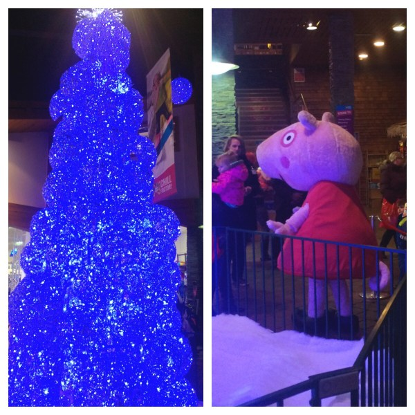 Christmas & Peppa at Chill Factore