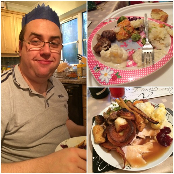 Hubby and his wonderful food
