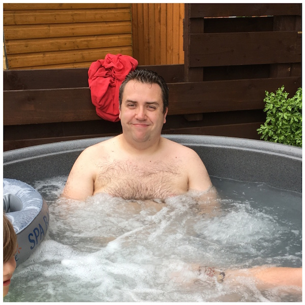 Hot Tub Birthday