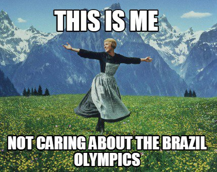 Olympics Don't Care