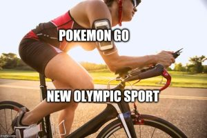 Pokemon Go the new Olympic Sport