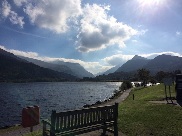 Snowdon and Llanberis Lake