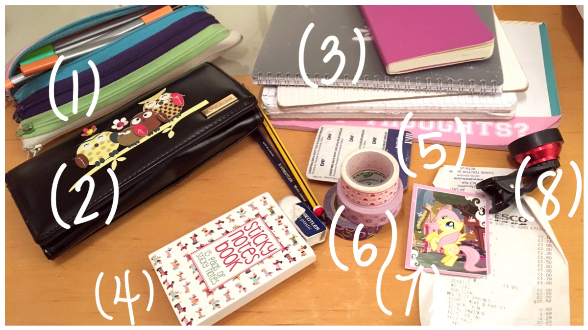 Contents of my handbag
