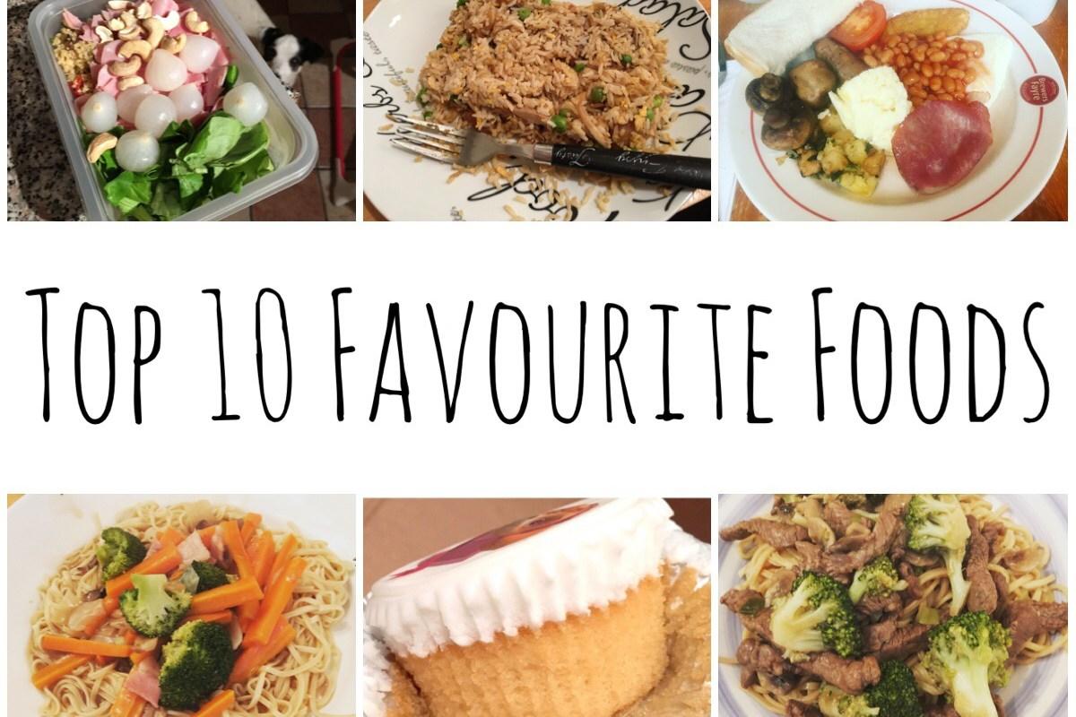 Top 10 Favourite Foods