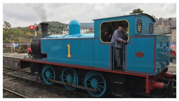 Thomas The Tank at Llangollen Railway