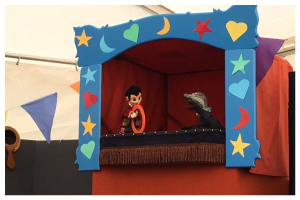 Puppet Show at Carrog