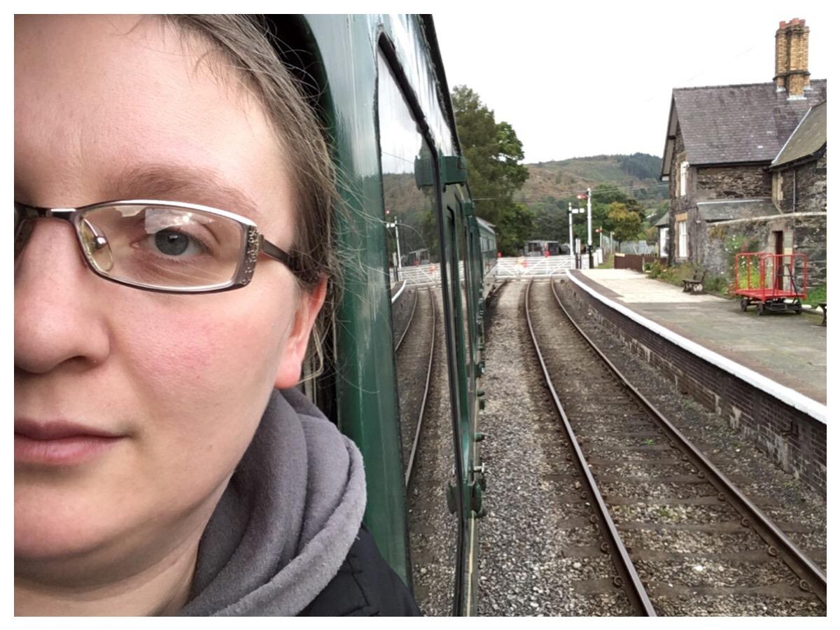 Selfie at Glyndyfrdwy