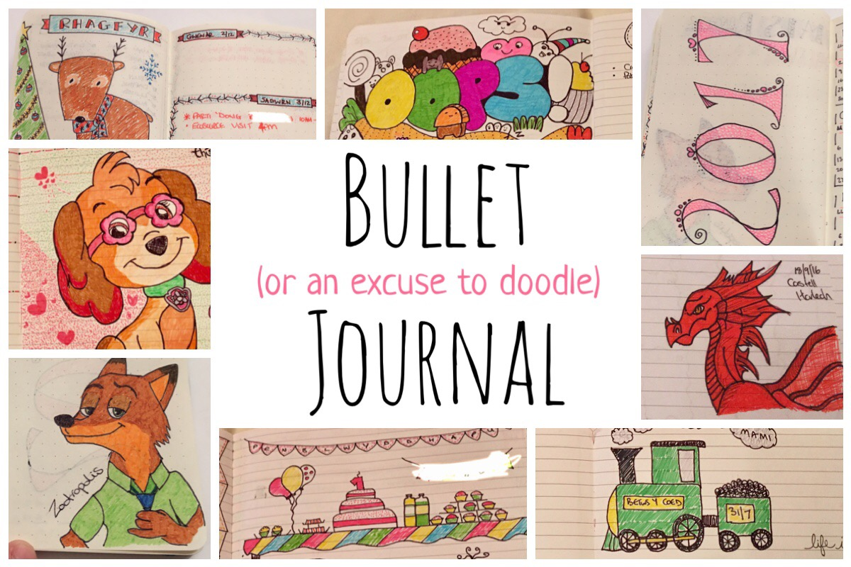 Bullet Journal - an excuse to doodle