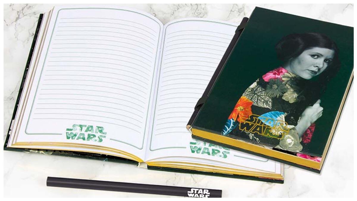 Star Wars Princess Leia Notebook