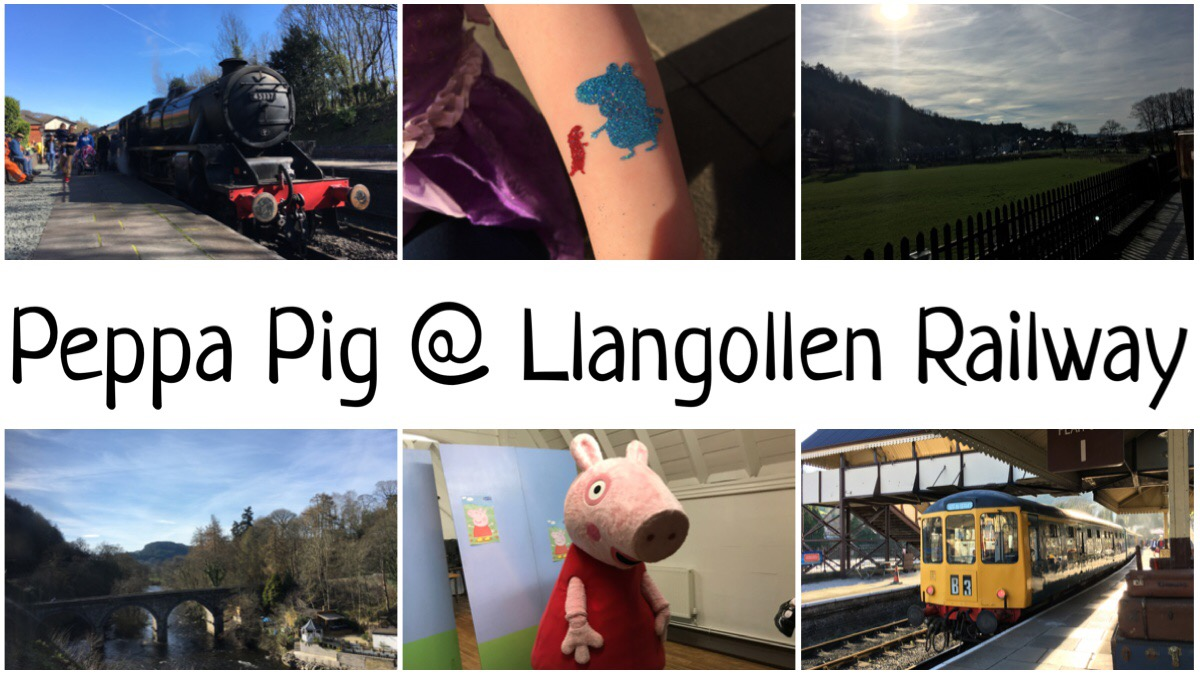 Peppa Pig at Llangollen Railway