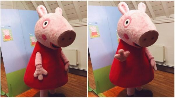 Peppa Pig at Llangollen Railway