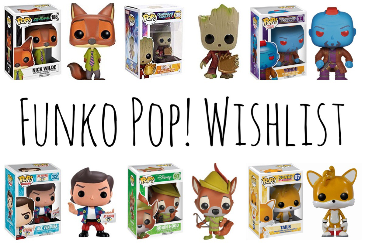 Funko Pop Wishlist
