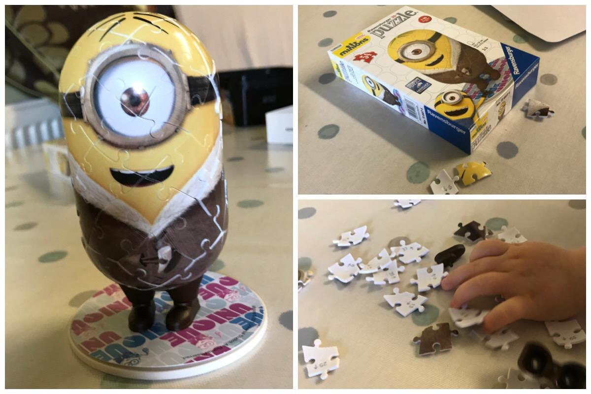3D Minions Puzzle