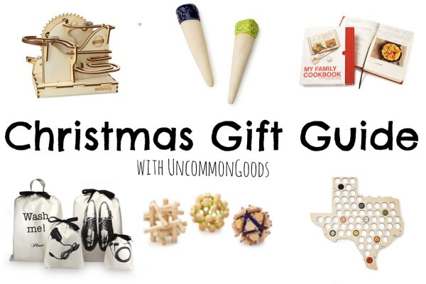 Christmas Gift Guide with UncommonGoods