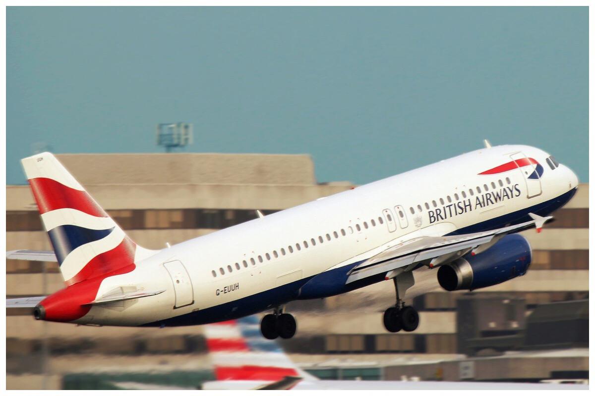 Flight Delays - British Airways flight taking off form Manchester airport