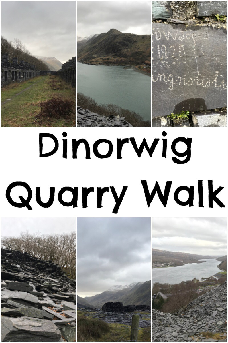 Taking in the sights on the Dinorwig Quarry Walk, Snowdonia, North Wales