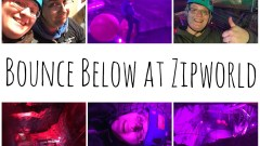 Bounce Below at Zipworld Slate Caverns