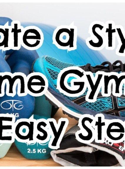 *** Create A Stylish Home Gym In 6 Easy Steps ***