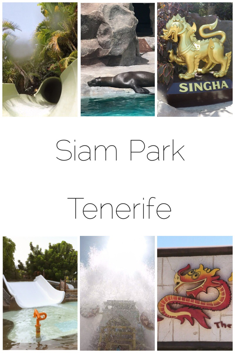 Siam Park, Tenerife - consistently voted the best waterpark in the world and I can see why!