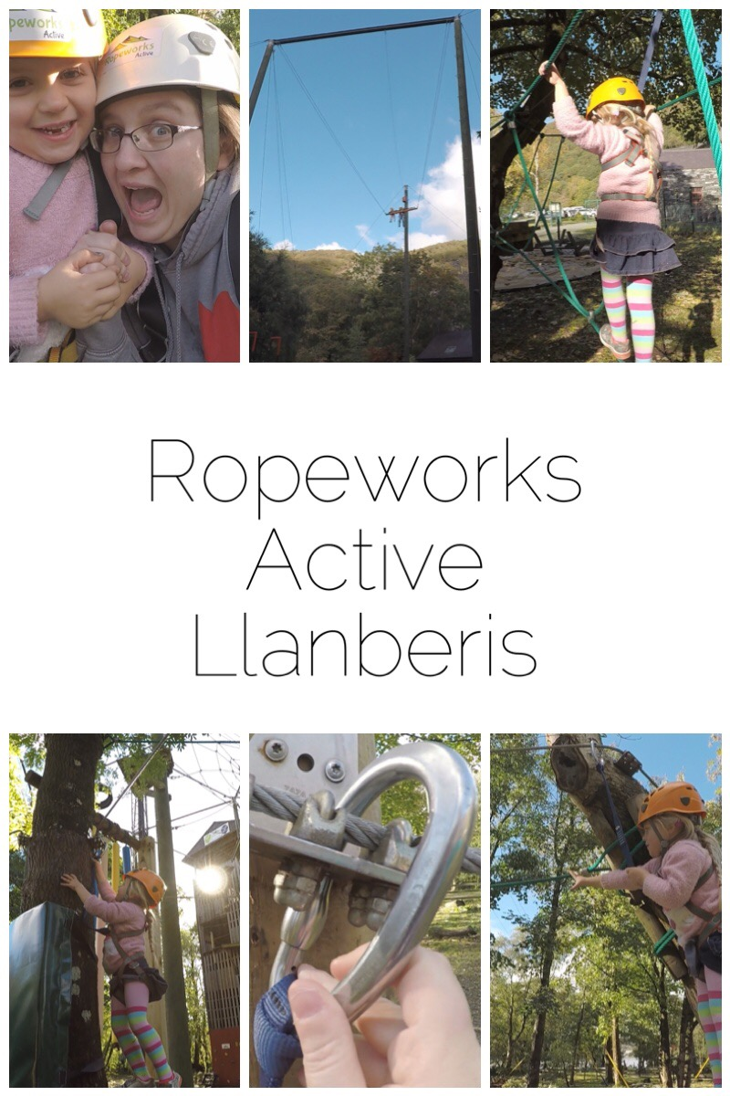 Ropeworks Active in Llanberis is a top day out. We've tried the Low Ropes course and the Big Swing. Lots of activities and lovely people