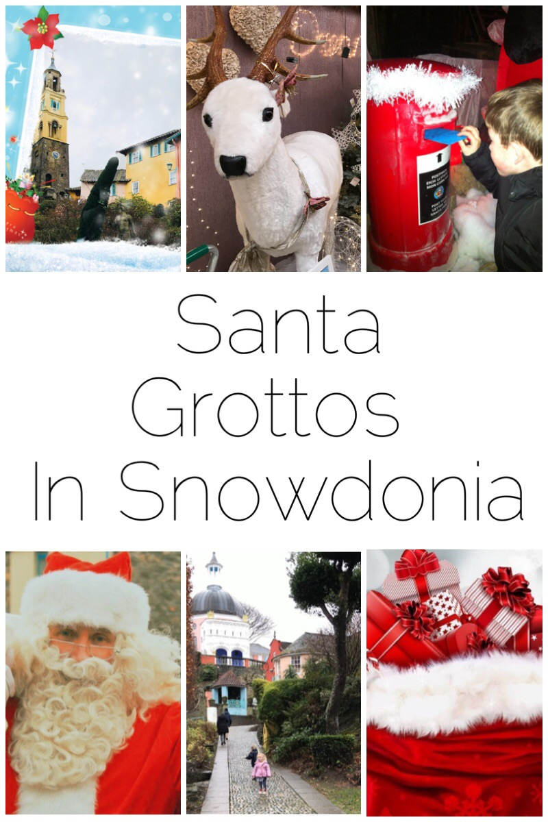 There are so many Santa Grottos dotted around Snowdonia this year that I just can't mention all of them. Here's just a selection of my favourite ones - including the Amgueddfa Lechi/Slate Museum, Portmeirion, Greenwood Forest Park, Fron Goch Garden Centre and Gypsy Wood.