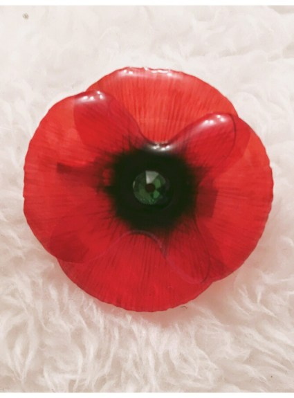 Acdria Poppy Brooches