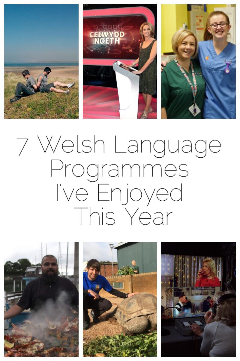 7 Welsh Language Programmes I've Enjoyed in 2018 including Dianc!, Antur Natur Cyw, Galw Nain Nain Nain, Bwyd Epic Chris, Ben Dant, Celwydd Noeth, Ward Plant