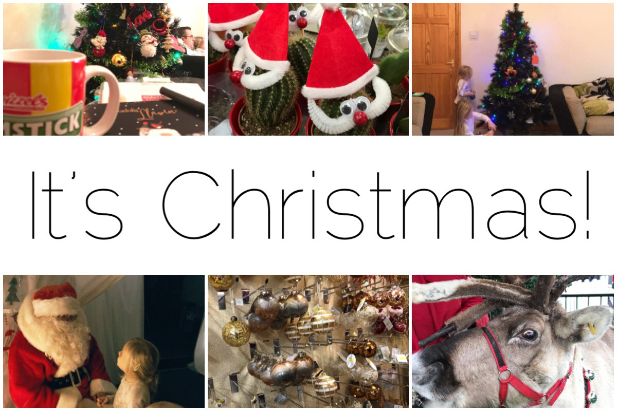 Six different Christmas images