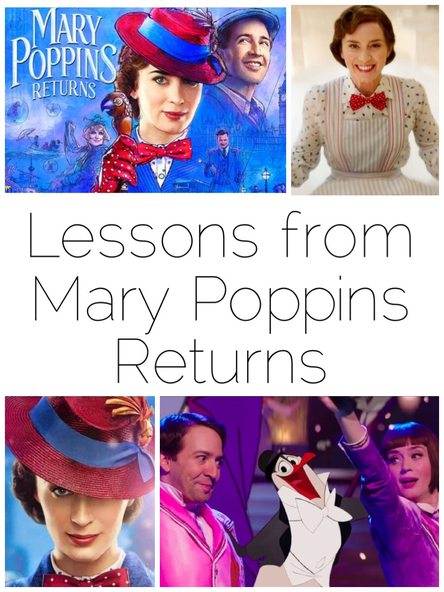 I thoroughly enjoyed Mary Poppins Returns but it also brings some important reminders. Here are 3 Lessons I learnt from Mary Poppins Returns