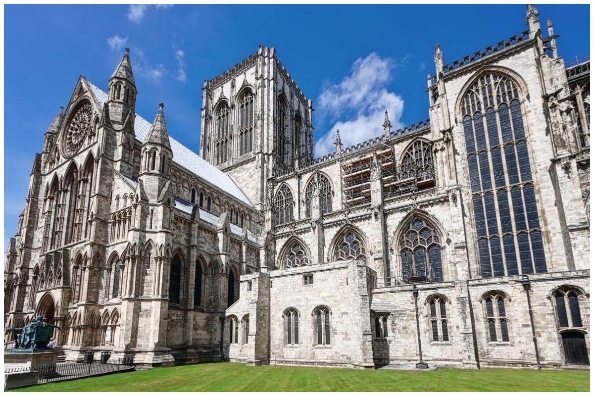 The beautiful York Minster