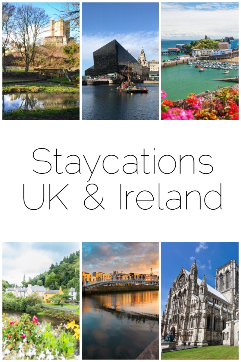 Staycations in UK & Ireland I would love to do including Doncaster, Liverpool, Pembrokeshire, York, Dublin and Wicklow