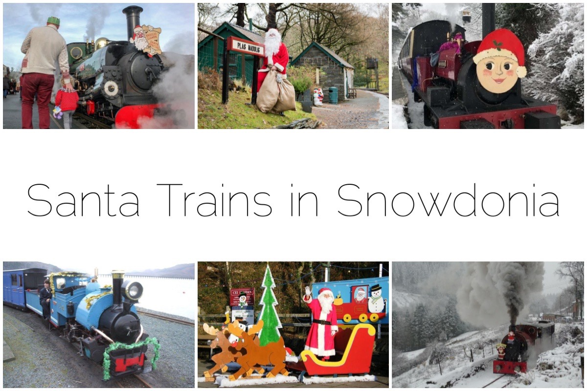 Santa Trains in Snowdonia