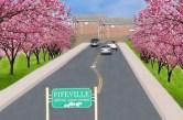 Imagine Cherry Avenue with Cherry Trees – Cathy Cassety, Gregg Early, Daniel Katz