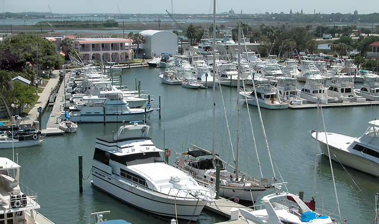 Marina at the Inn at Camachee Harbor