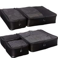 51k1crBSlwL - eBags Ultralight Packing Cubes - Super Packer 5pc Set