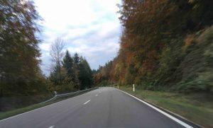Route des cretes foret noire - B500